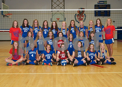 Middle School Volleyball 2014
