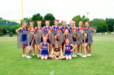 Middle School Cheer 2014