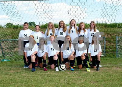 Middle School Girls Soccer 2014